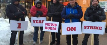 on strike for one year we are not going to cave in cwa canada