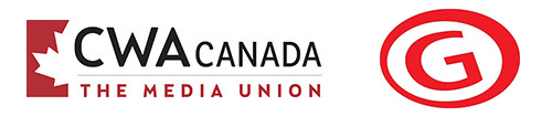 CWA Canada and CMG logos