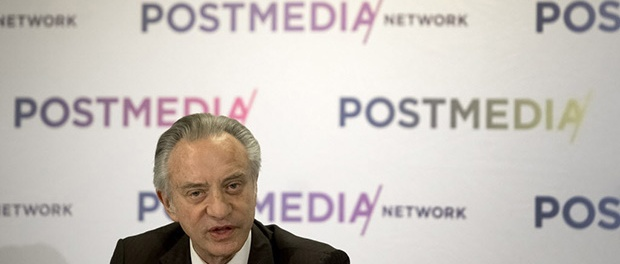 Postmedia CEO Paul Godfrey