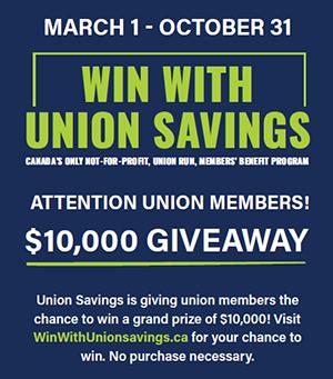 Union Savings contest