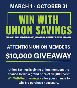 Union Savings contest