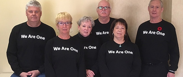ONG bargaining team