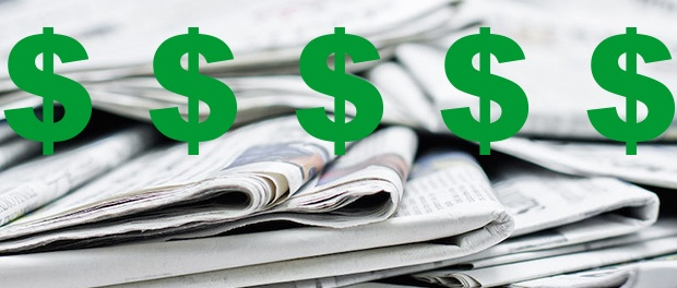 newspapers-dollar signs