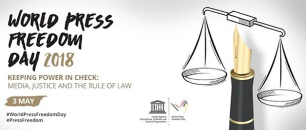 World Press Freedom Day graphic