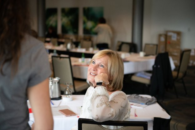 Joanne Scheel, CWA Canada financial co-ordinator.