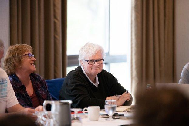Joanne Van Buskirk and Mary-Ann Barr, Media & Communications Workers of Alberta.