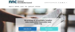 National NewsMedia Council website