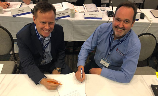 Union leaders sign formal agreement re factual TV