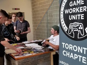 Game industry workers discuss labour issues